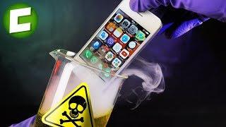 ЧТО БУДЕТ ЕСЛИ IPHONE ОПУСТИТЬ В СОЛЯНУЮ КИСЛОТУ? НОВЫЙ СМАРТФОН BlackView A7