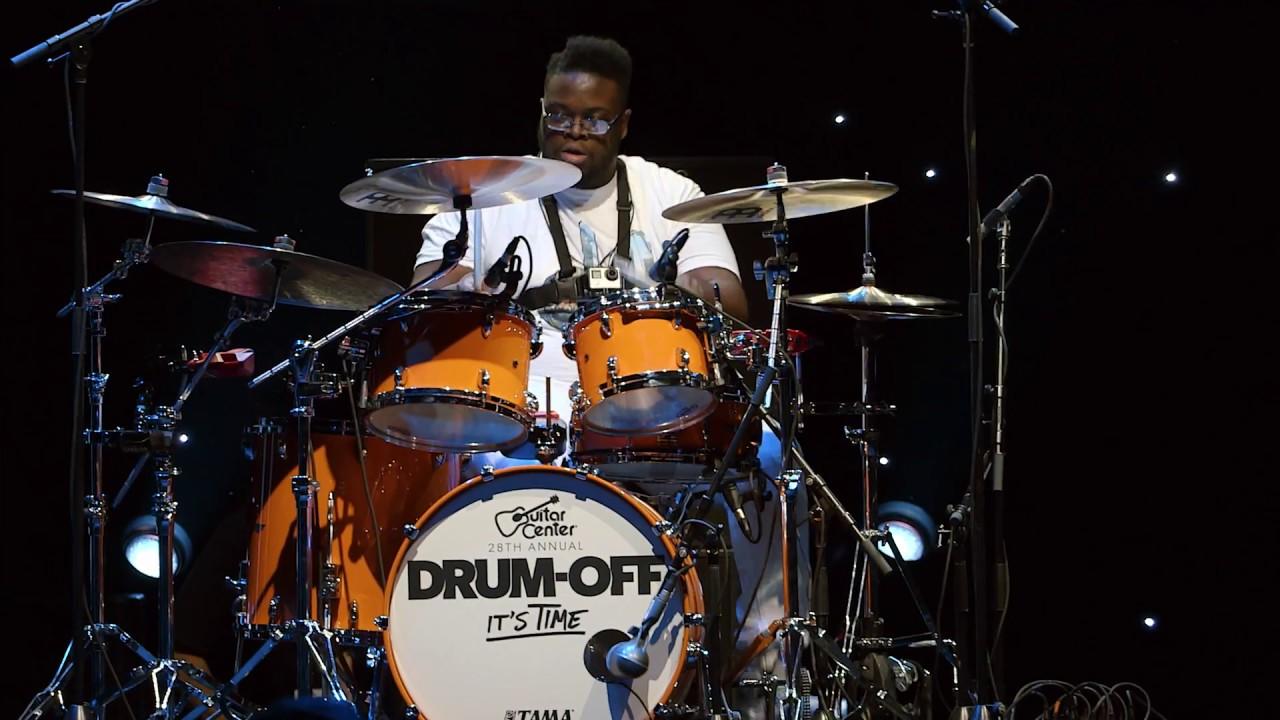 kwesi robinson guitar center 39 s 28th annual drum off finalist youtube