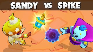 ☀️ SANDY vs SPIKE 🌚 | Light vs Darkness | Brawl Stars