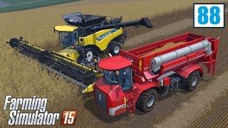 Nowoczesne żniwa (Farming Simulator 15 #88), gameplay pl