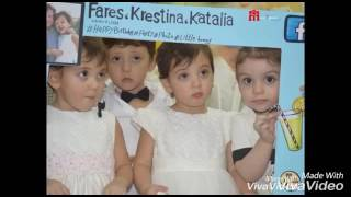 صور وفيديو كندة حنا ترقص في عيد ميلاد ابنها فارس وتشعل الحفل