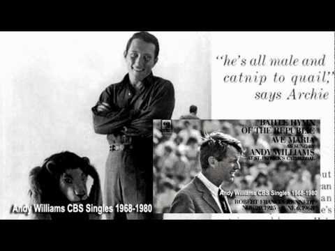 andy williams-21 CBS singles 1967-1980