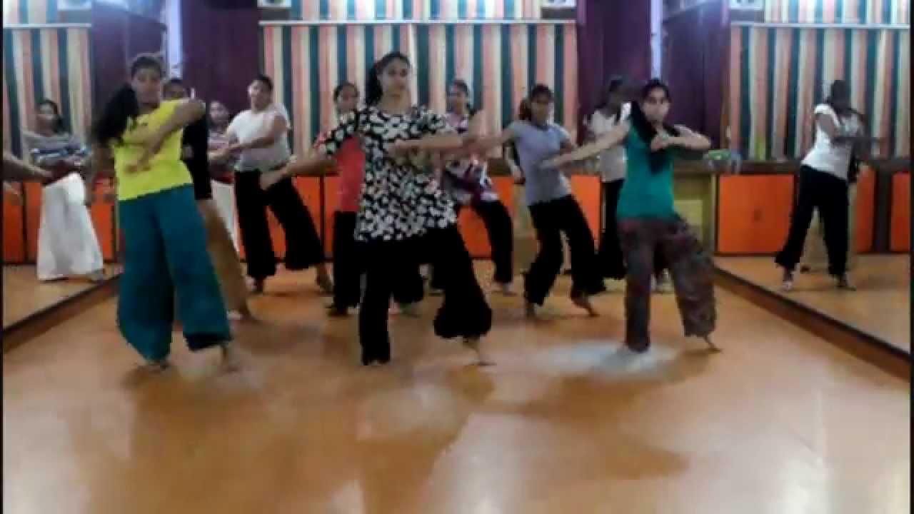 Bhangra steps for ladies