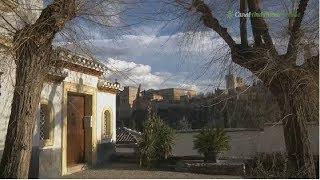 El Albaicín y el Mirador de San Nicolas. Granada