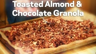 Toasted Almond & Chocolate Granola - Love & Olive Oil