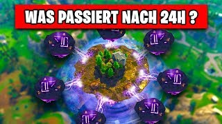 Cube Island 24 Hours LOADED - WHAT PASSES? | Fortnite Season 6 German German
