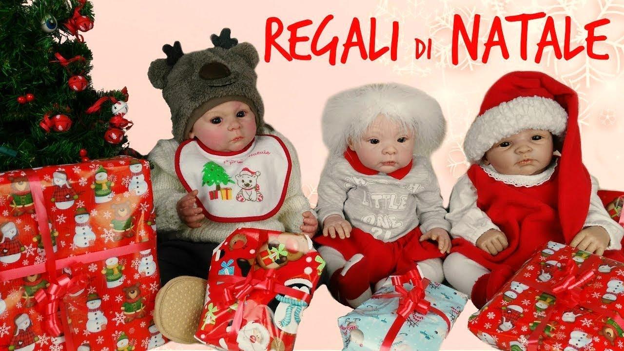 I Regali Di Natale Quando Si Aprono.Le Mie Bambole Reborn Aprono I Regali Di Natale