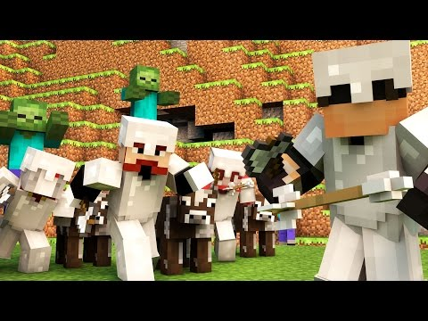 MONSTER MAZE MADNESS?! | Minecraft Mini-Game MASHUP! /w Facecam