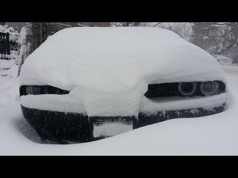 Снегопад в США и пустые прилавки в магазинах...