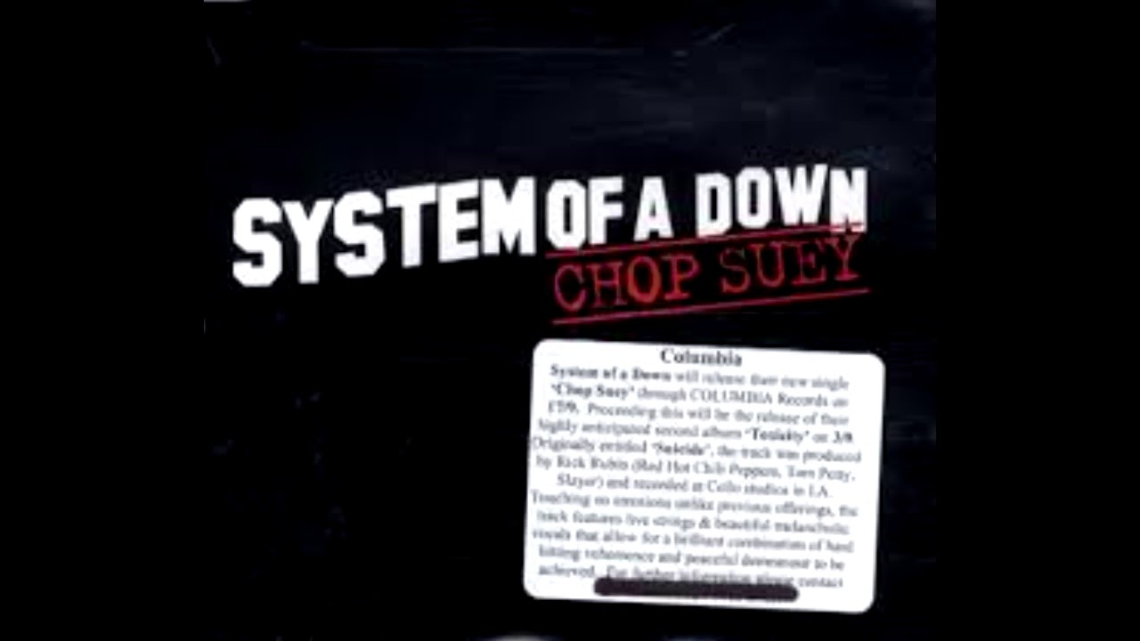 System Of a Down -  Chop Suey ft. Lily Santos