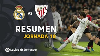 Resumen de Real Madrid vs Athletic Club (0-0)