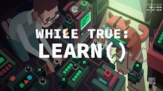 while True: learn() повне проходження