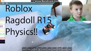 R15 Ragdoll Roblox Everett Plays R15 Ragdoll Physics Roblox By Jordan Lewis