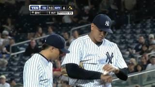 2011/09/22 Betances' MLB debut
