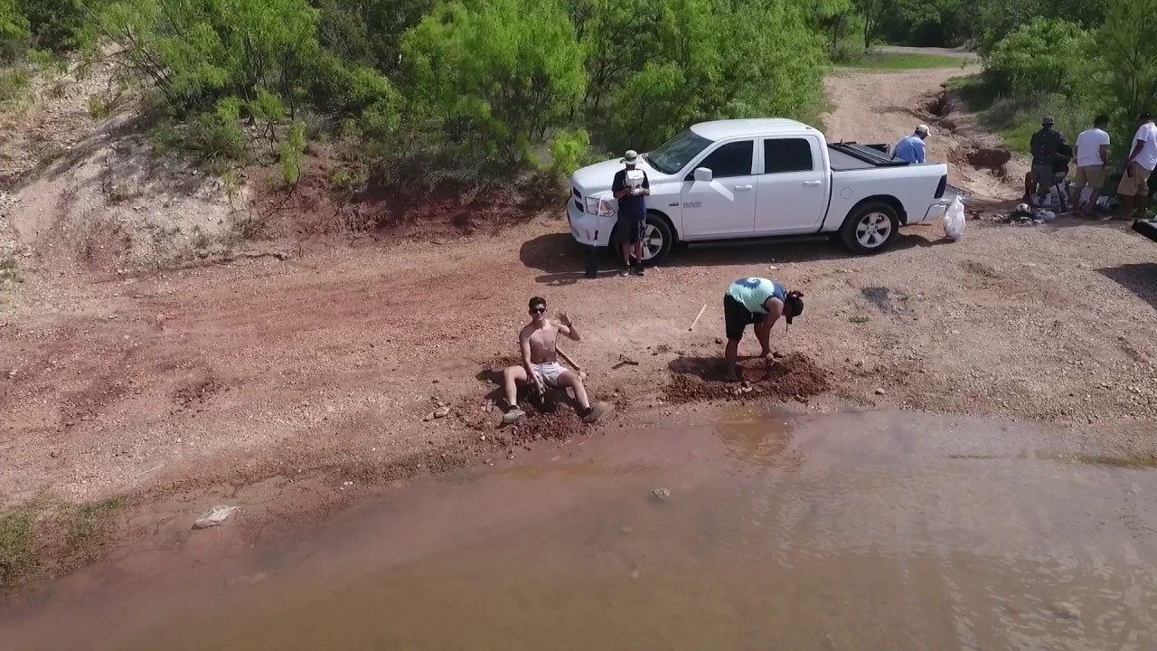 Moss Creek Lake - 4/15/17 drone footage