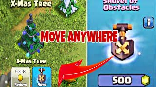How to Use Shovel of Obstacles in Clash of Clans | New Magic Item in Clash of Clans