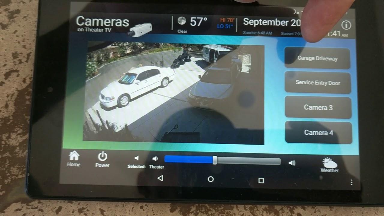 Hikvision Cameras on RTI