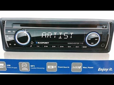How to install radio cd blaupunkt  a smart car