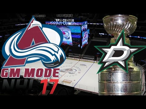 Playoffs Round One DALLAS - NHL 17 - GM Mode Commentary - Colorado ep. 20