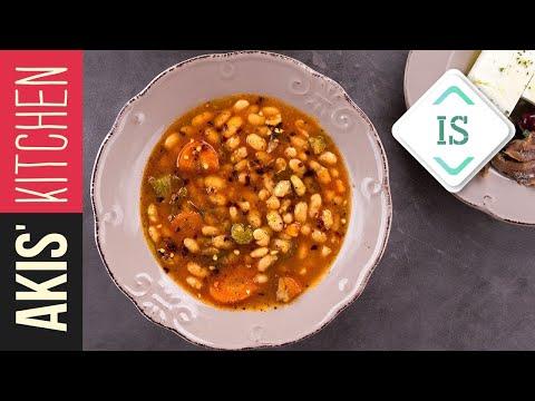 Greek Navy Bean Soup - Fasolada in Sign Language | Akis Petretzikis
