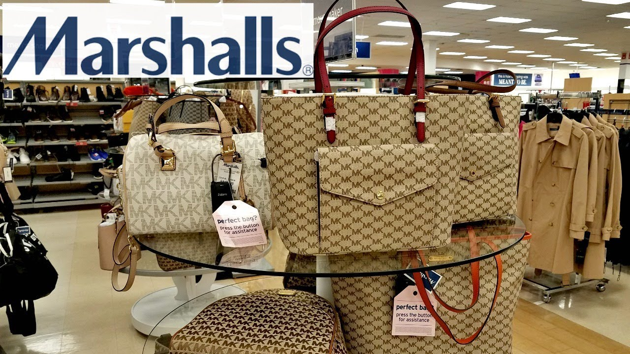 Shop With Me Marshalls Designer Handbags Michael Kors Steve Madden