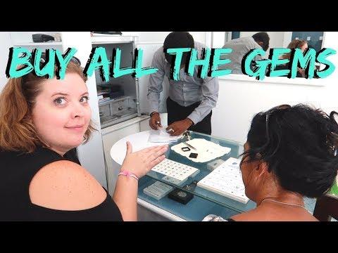 $1.00 Moonstones?!? | Back in Colombo | Sri Lanka Travel Vlog