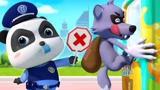 Download Big Bad Wolf and Drinks Vending Machine | Police Cartoon | Learn Colors | Kids Songs | BabyBus Mp3 and Videos
