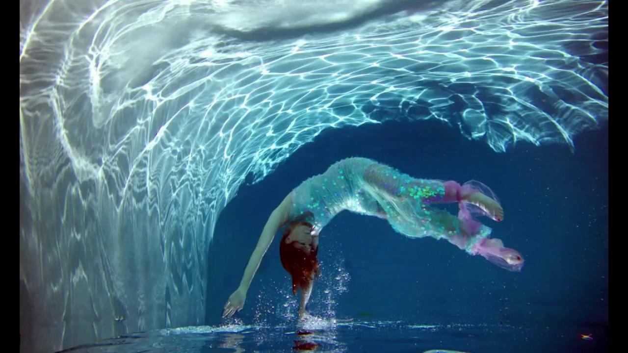 Underwater Fantasy with Anneliese - YouTube Смотреть Фильм Фантастика