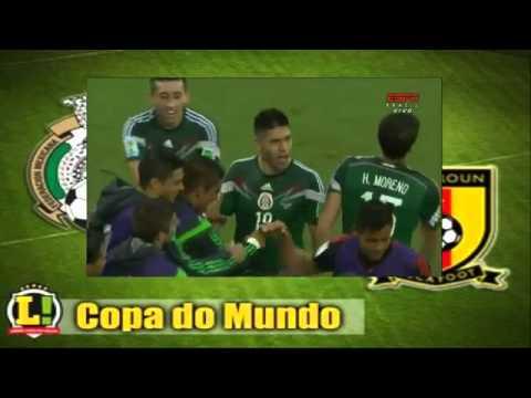 Goal O  Peralta    Mexico 1 vs 0 Cameroon   World Cup   06 13 2014