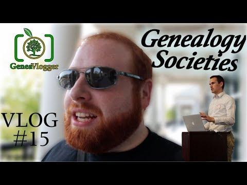 Genealogy Societies - Expanding Your Genealogical Knowledge (VLOG #15)