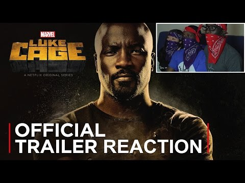 Luke Cage (Official Trailer) Reaction