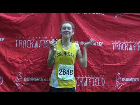 Souhegan's Elise Lambert - 600 meter Champ!!!!