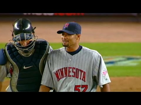 MIN@NYM: Santana Completes Shutout Of Mets