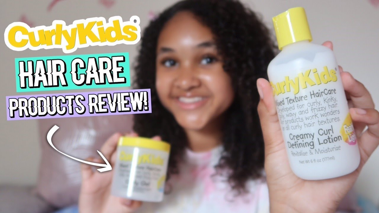 CURLY ELLIE HAIR PRODUCTS REVIEW   Inspiring Vanessa   YouTube
