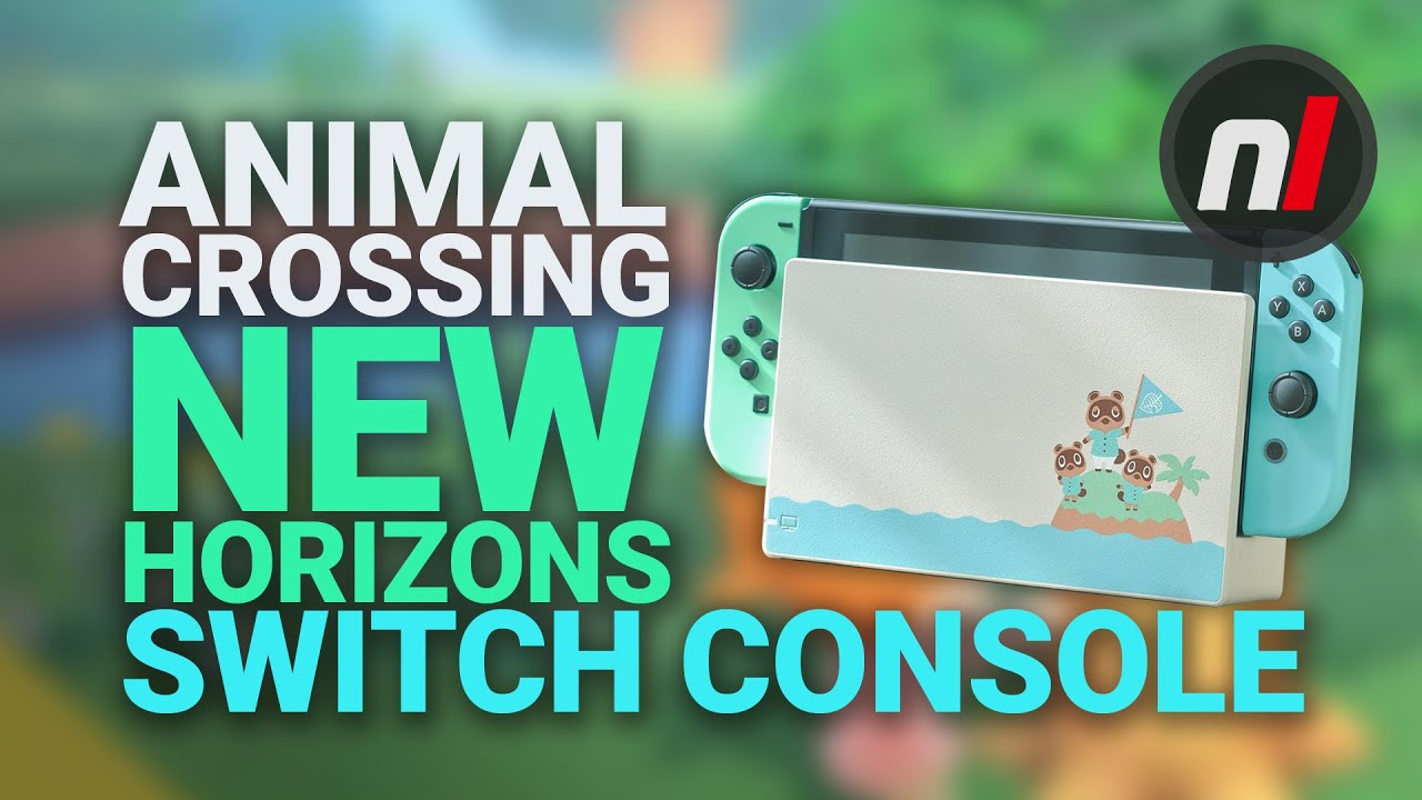 Limited Edition Animal Crossing New Horizon Nintendo Switch Is