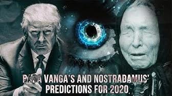 🔴 Blind Mystic Baba Vanga's and Nostradamus' Predictions for 2020