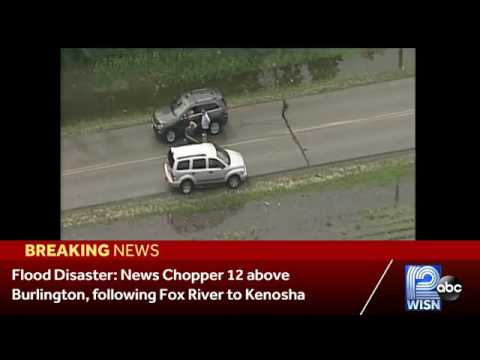 News Chopper 12 shows off flooding