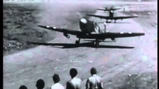 73 Squadron RAF Spitfire Prkos Zadar Croatia 1945 also 2914 LAA