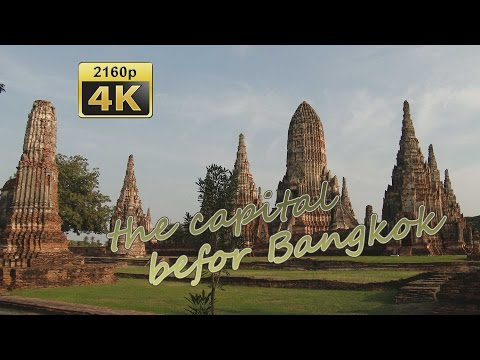 Ayutthaya - Thailand 4K Travel Channel