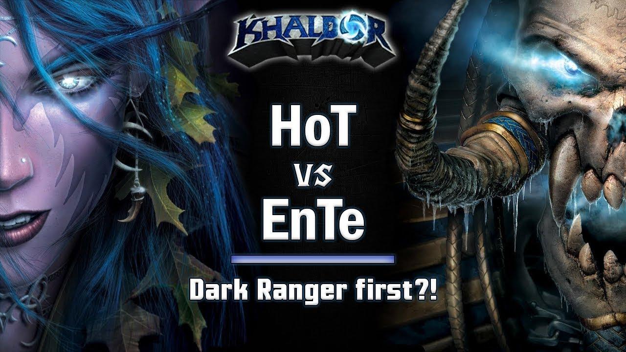 ► WarCraft 3 - Hot (NE) vs. EnTe (UD) - Dark Ranger first!