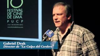 """Presentación de """"La culpa del cordero"""". 16 Festival de Cine de Lima"""
