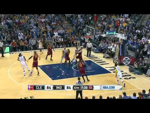 Cleveland Cavaliers vs Indiana Pacers | February 1, 2016 | NBA 2015-16 Season