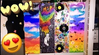 PAINTING MY DRESSER! (Crazy & Colorful!)