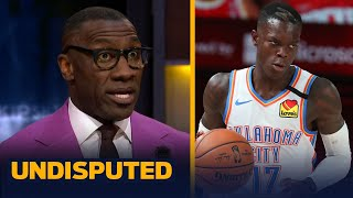 Shannon Sharpe reacts to reports Lakers are near deal with Dennis Schroder | NBA | UNDISPUTED