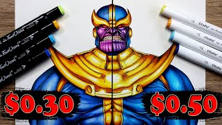 $0.30 vs $0.50 MARKER Art   CHEAP vs CHEAP - Which Is WORTH IT..?  