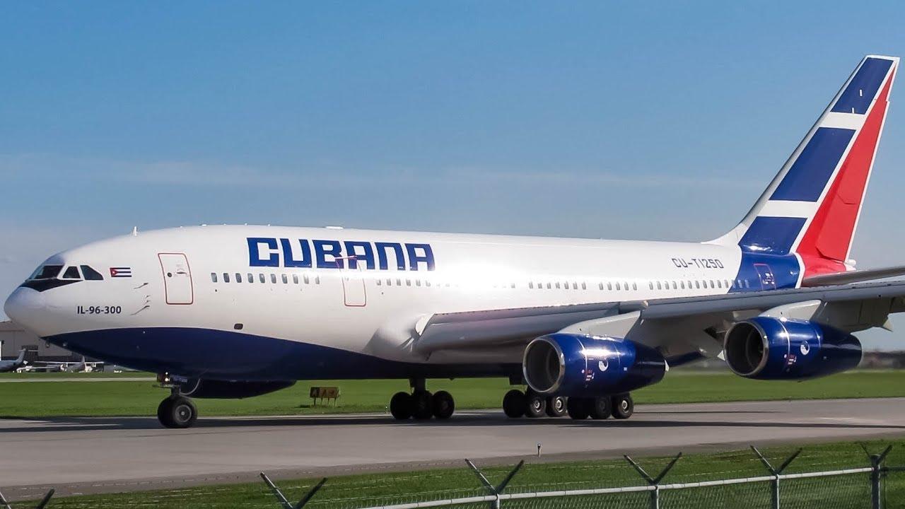 Cubana Ilyushin Il 96 300 Il96 Departing Montreal Yul Cyul Youtube