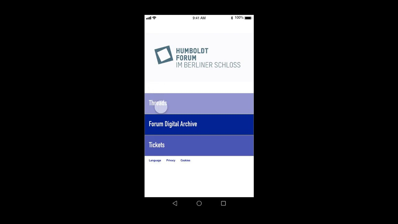 Humboldt Forum App Proposal – Angelica Richardson