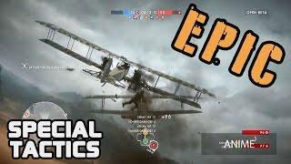 Battlefield 1 - EPIC AIR COMBAT (Special Tactics)