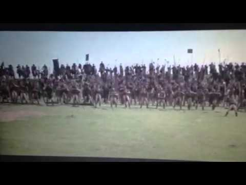 Braveheart Stirling archers and taunting scene