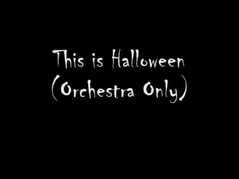 This Is Halloween The Actual Instrumental!